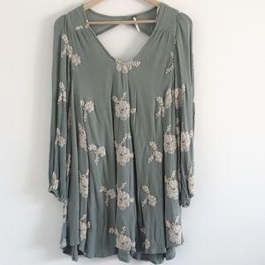 Free People | long sleeve mini dress AU XS